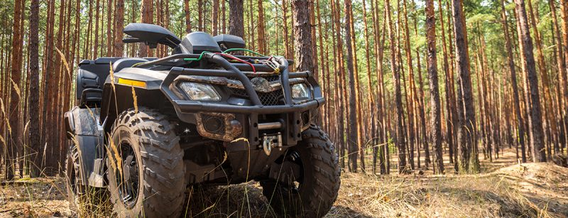 5 Ways to Use ATVs & UTVs in Forestry & Logging